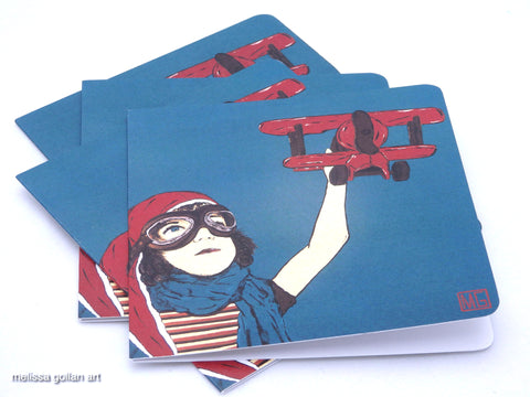 ART CARDS - 4 Pack (Dream To Fly)
