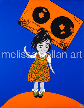 Dancing on Sunshine - LIMITED EDITION Giclée Prints on Canvas
