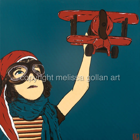 Dream To Fly - ORIGINAL PAINTING - SOLD!