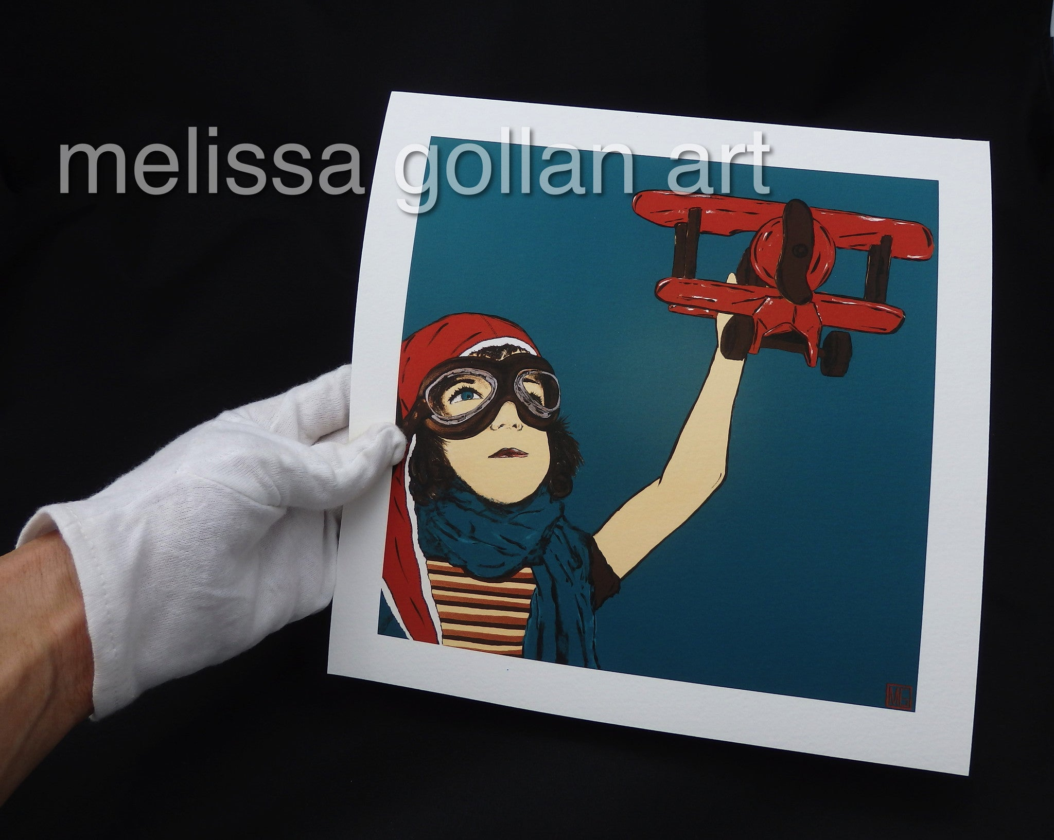 Dream To Fly - Giclée PRINT on Fine Art Paper (Hand Signed)