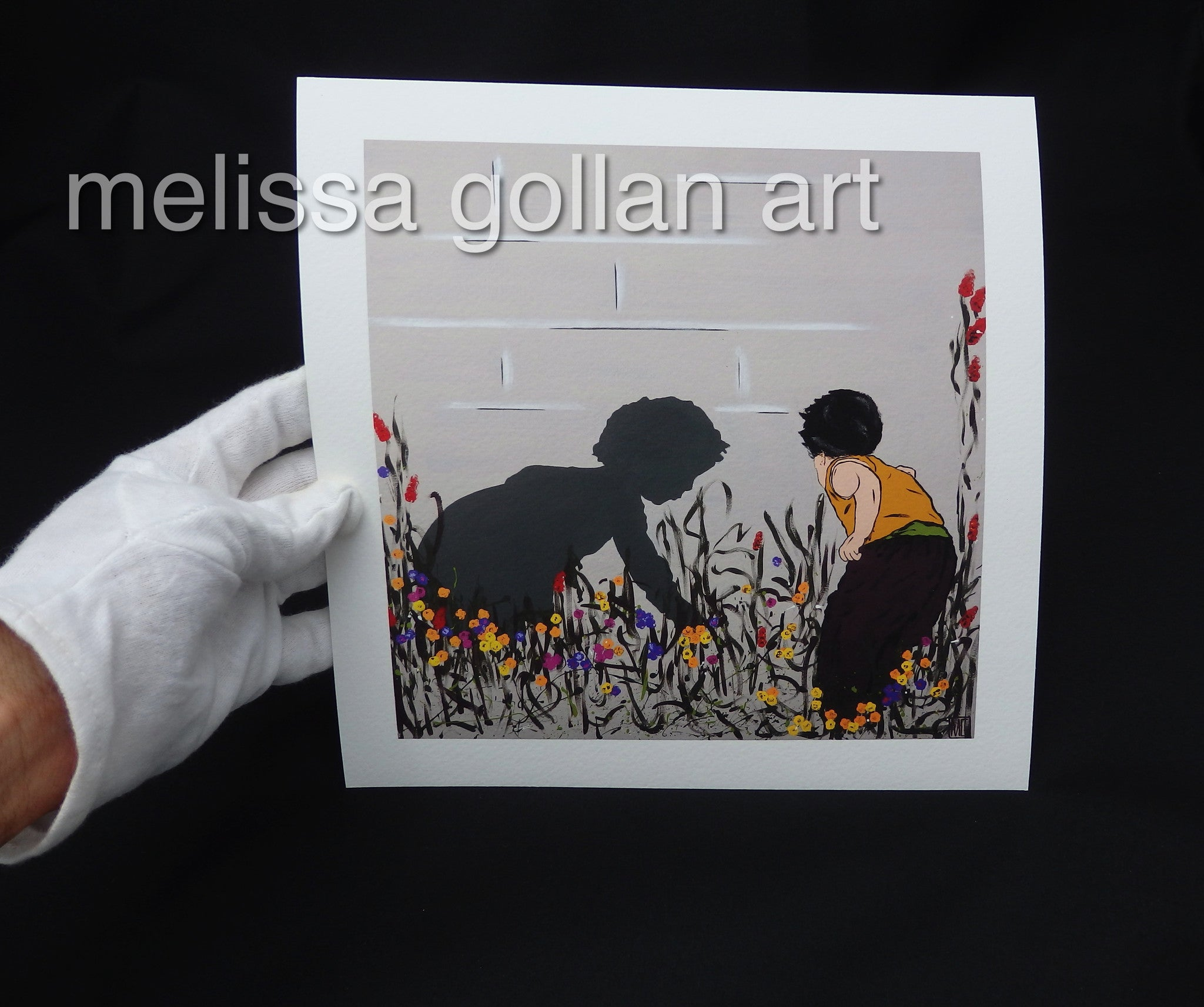 In The Garden - Giclée PRINTS on Fine Art Paper (Hand Signed)