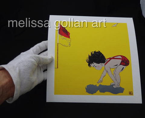 Look What I See - Giclée PRINT on Fine Art Paper (Hand Signed)