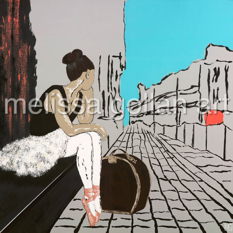 After The Audition -LIMITED EDITION Giclée Prints on Canvas