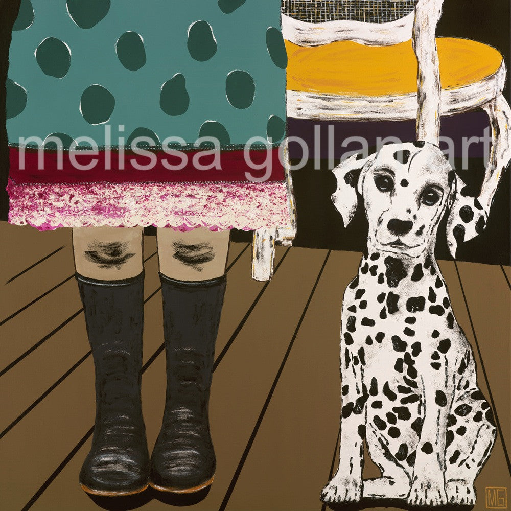 Gumboots - Giclée PRINT on Fine Art Paper (Hand Signed)