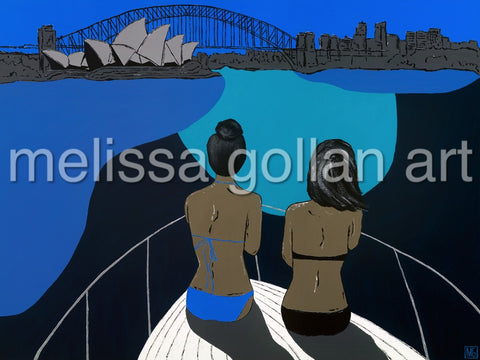 Cruising Sydney Harbour - Giclée PRINTS on Fine Art Paper (Hand Signed)
