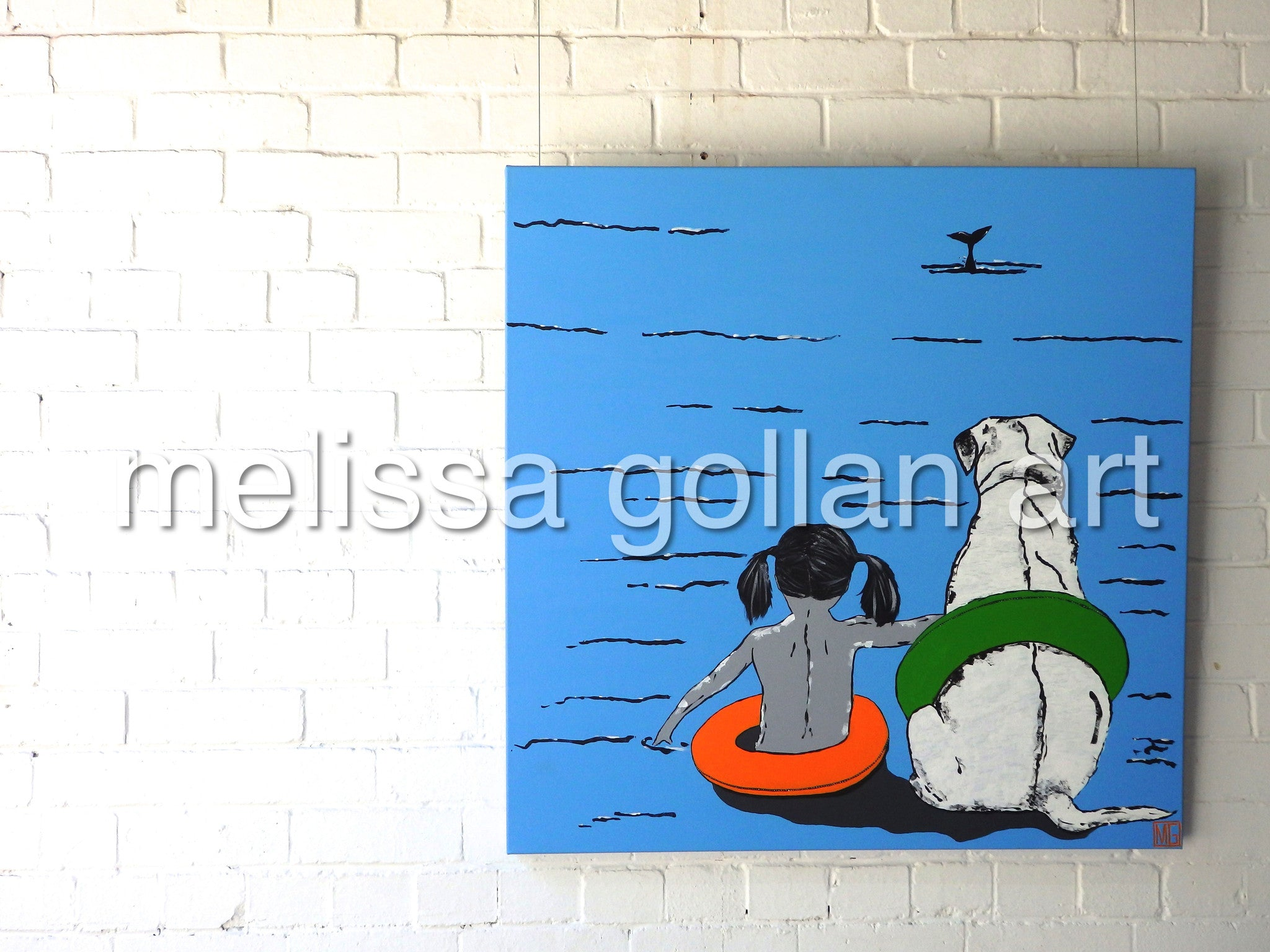 Whale Watching - LIMITED EDITION Giclée Prints on Canvas