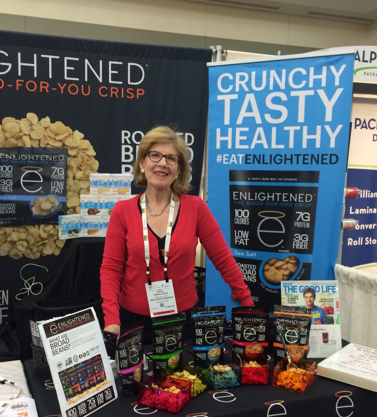 Trip to Natural Products Expo East! | ENLIGHTENED Recipes