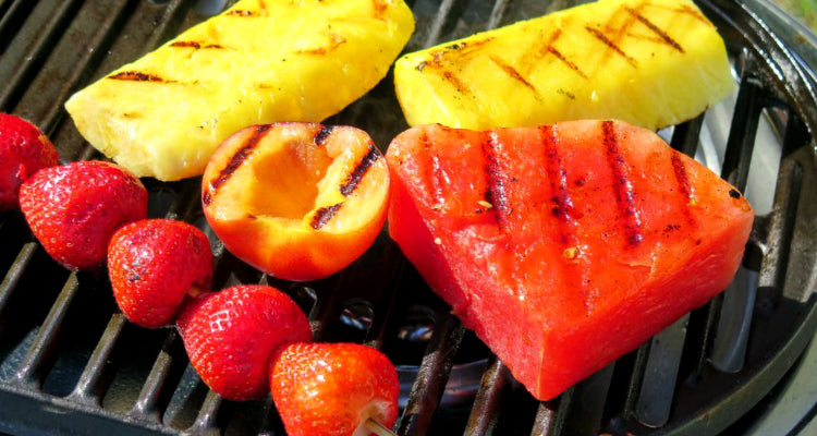 Grilled Fruit on Grill