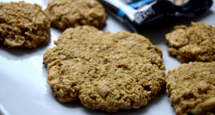 Close up of Healthy Oatmeal Cookie