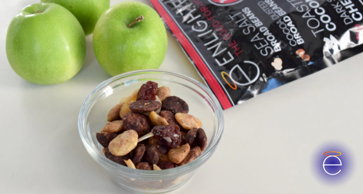 Enlightened Trail Mix Granny Smith Apples