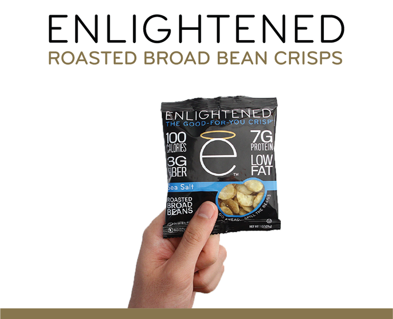 Roasted Broad Bean Crisps