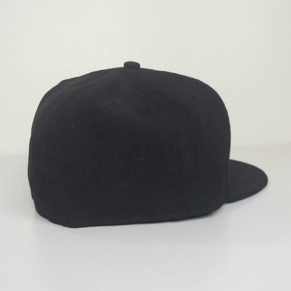 Black Scale embroidered black fitted cap - LNF Shop -  Black Scale, , Montreal, Mile End
