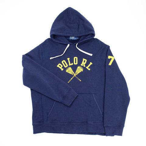 Vintage Polo Ralph Lauren hooded sweatshirt size L