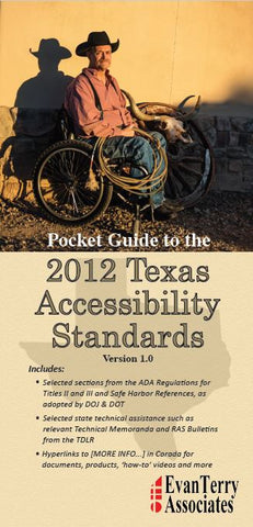 Pocket Guide to the 2012 Texas Accessibility Standards - PDF Download version