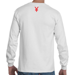 YE$ TEE WHITE LONG SLEEVE