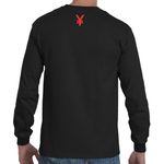 YE$ TEE BLACK LONG SLEEVE