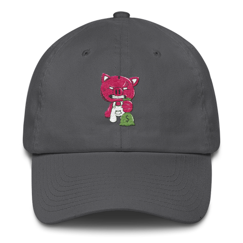 DAD CAP (GRAY)