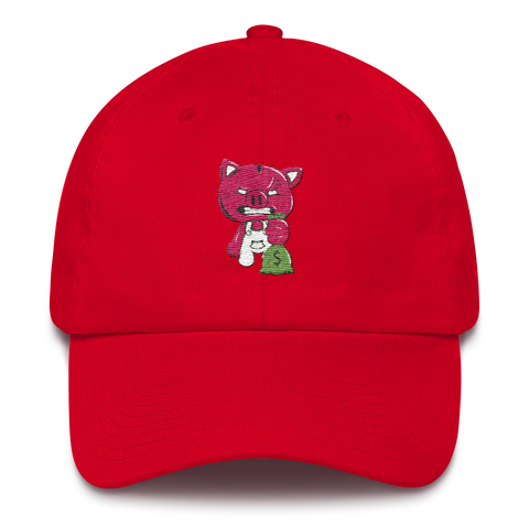 DAD CAP (RED