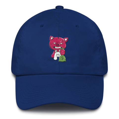 DAD CAP (ROYAL BLUE)