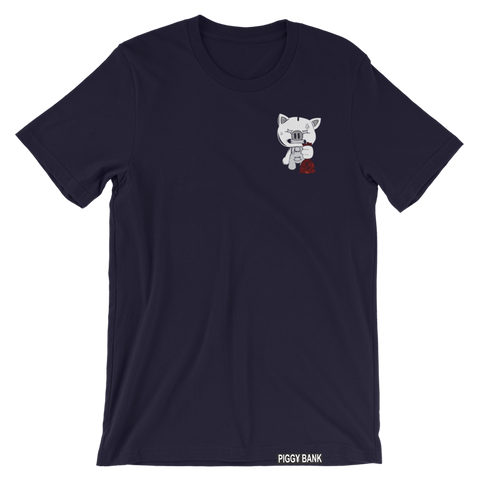 OG PIGGY MULTI COLOR TEE (NAVY BLUE)