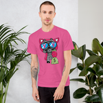 OG PIGGY GAS MASK TEE HOT PINK