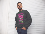 OG PIGGY CREW NECK CHARCOAL GRAY SWEATER