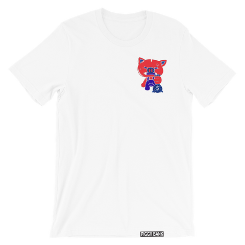 OG PIGGY MULTI COLOR TEE (WHITE)