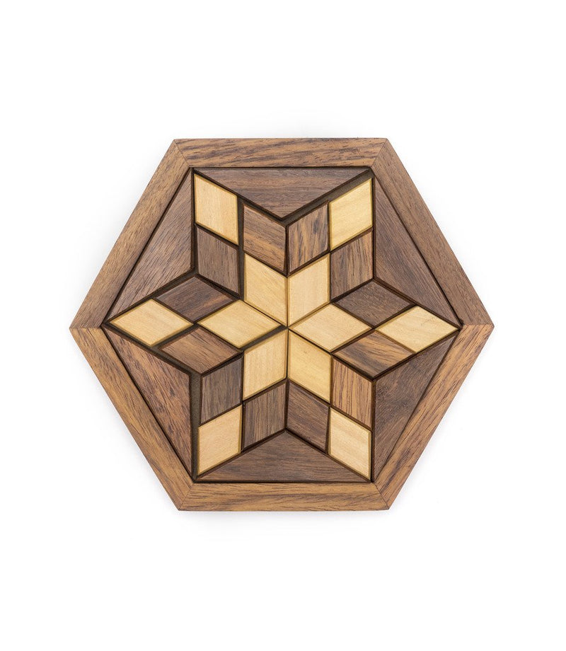 Wooden Star Puzzle