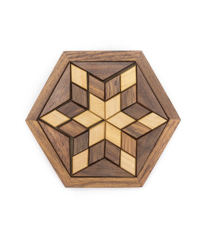 Image of Wooden Star Puzzle