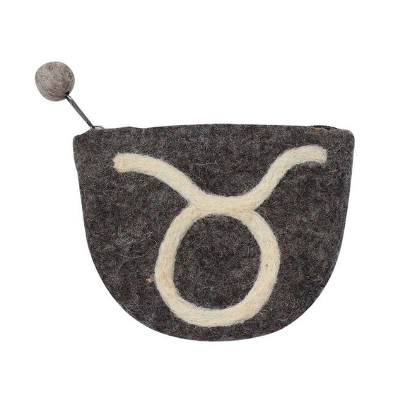 Felt Taurus Coin Purse