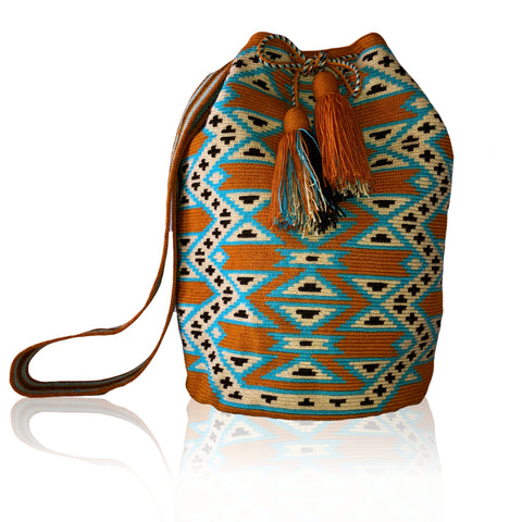 Image of Wayuu bags - Manaure | Wayuu Crossbody bag - Putchipuu - Colombian Artisans, handmade, Crossbody