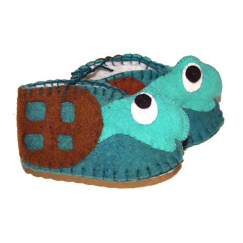 Image of Turtle Zooties Baby Booties - Silk Road Bazaar