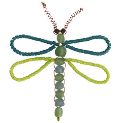 Dragonfly Bead Ornament - Global Mamas (H)