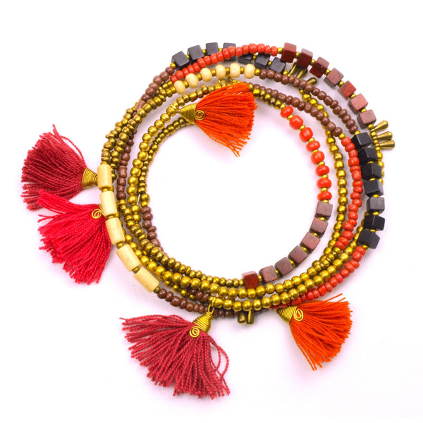 Kerala 3-in-1 Necklace Desert Sun