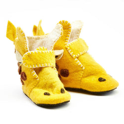 Giraffe Toddler Booties