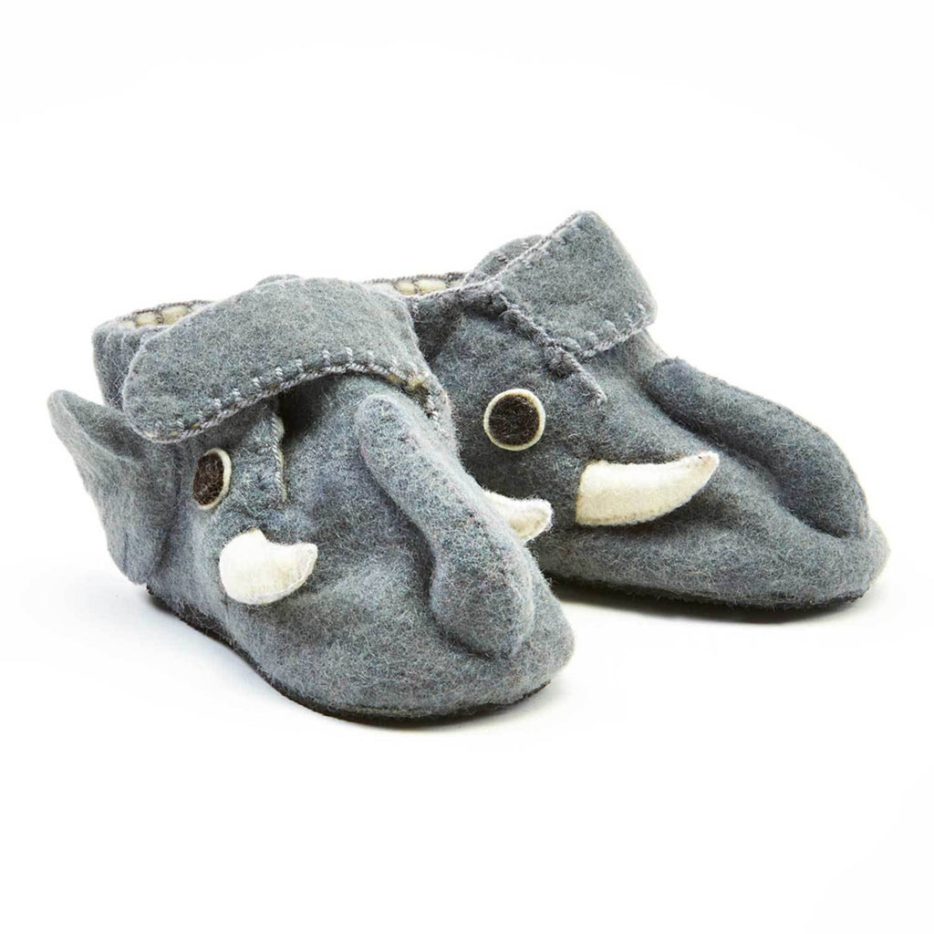 Elephant Toddler Booties
