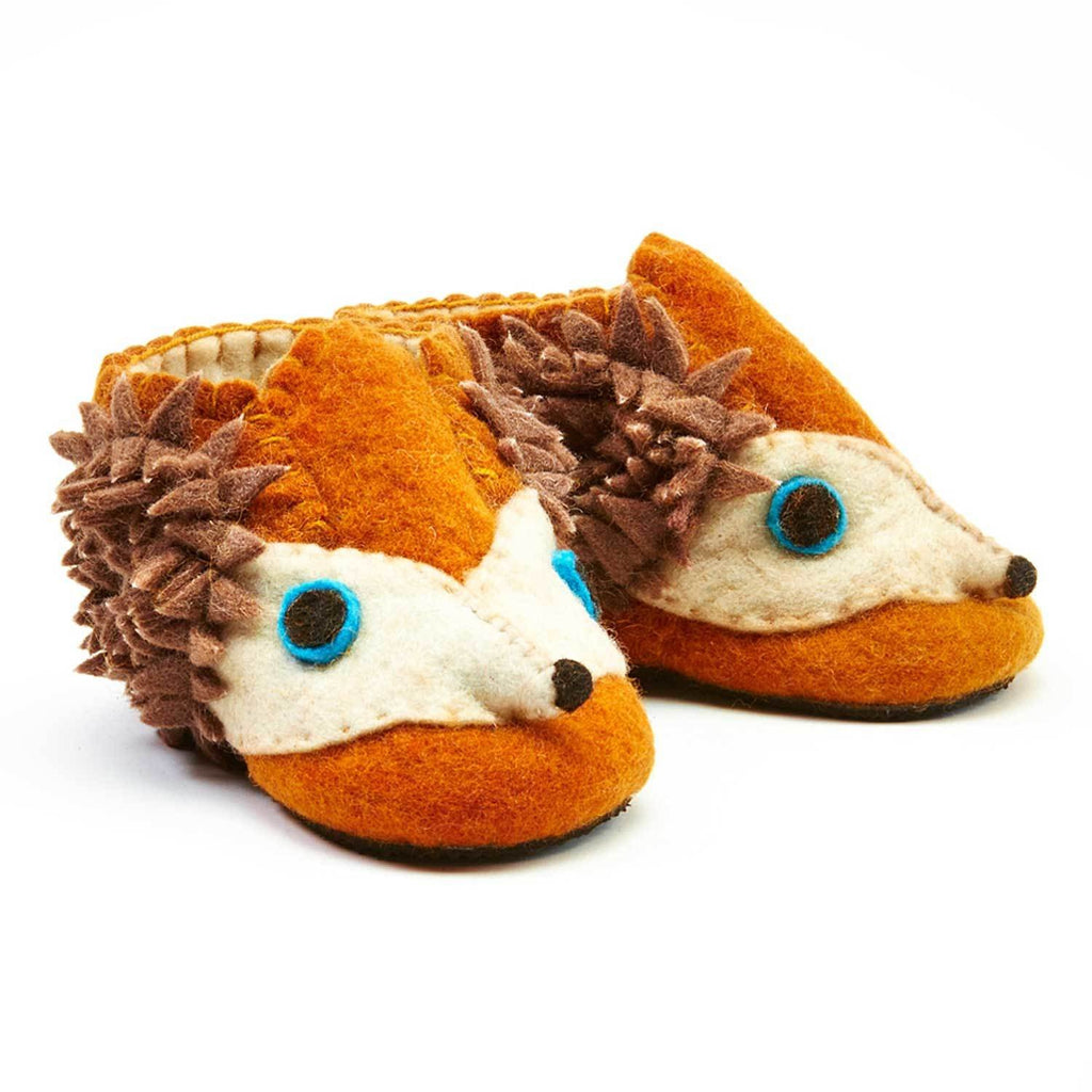Hedgehog Toddler Booties