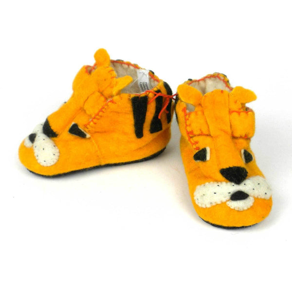 Tiger Toddler Booties