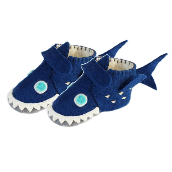 Shark Toddler Booties