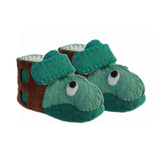 Turtle Toddler Booties