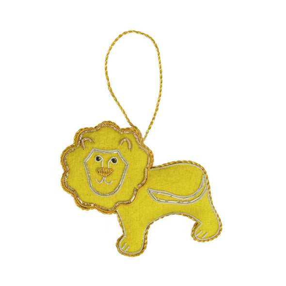 Larissa Plush Ornament - Lion - Matr Boomie (H)