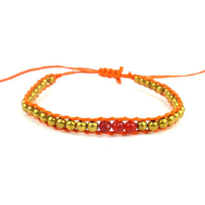 2nd Chakra Bracelet - Orange