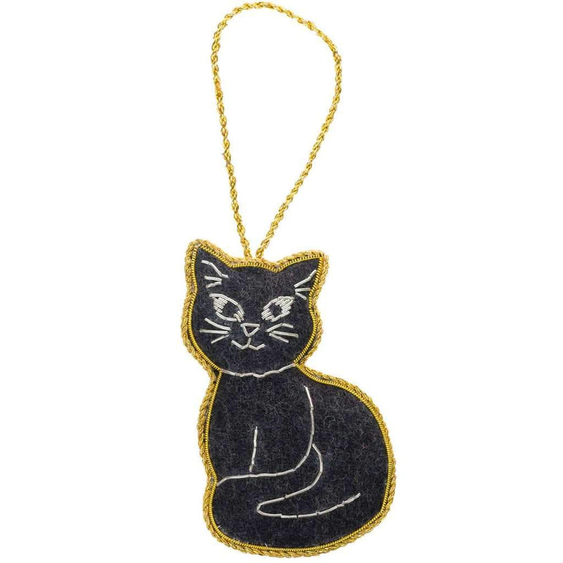 Larissa Plush Ornament - Cat - Matr Boomie (H)