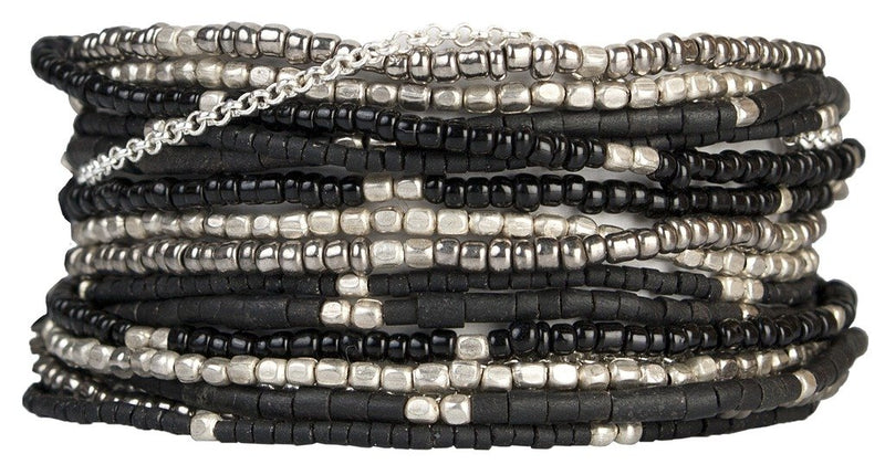 Wrap Bracelet: Lauren Midnight