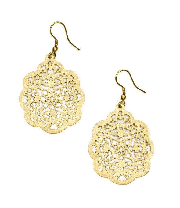 Viti Earrings - Goldtone