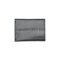 Sustainable Leather Wallet - Black