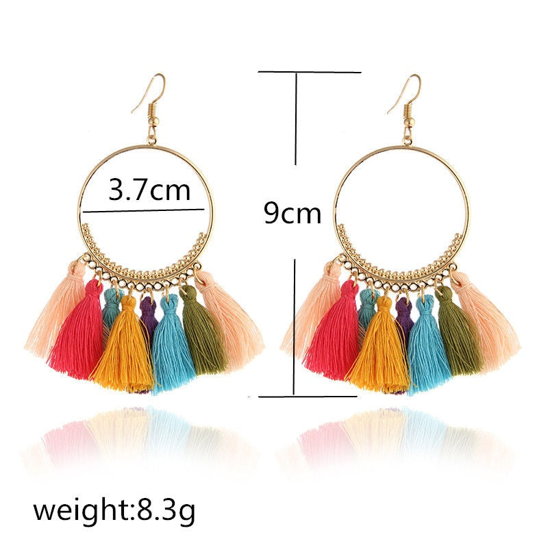 Handmade Boho Style Earrings