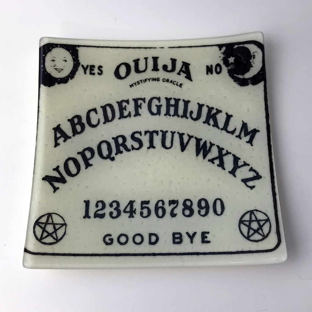 "Witchy 8"" Slumped Platter"
