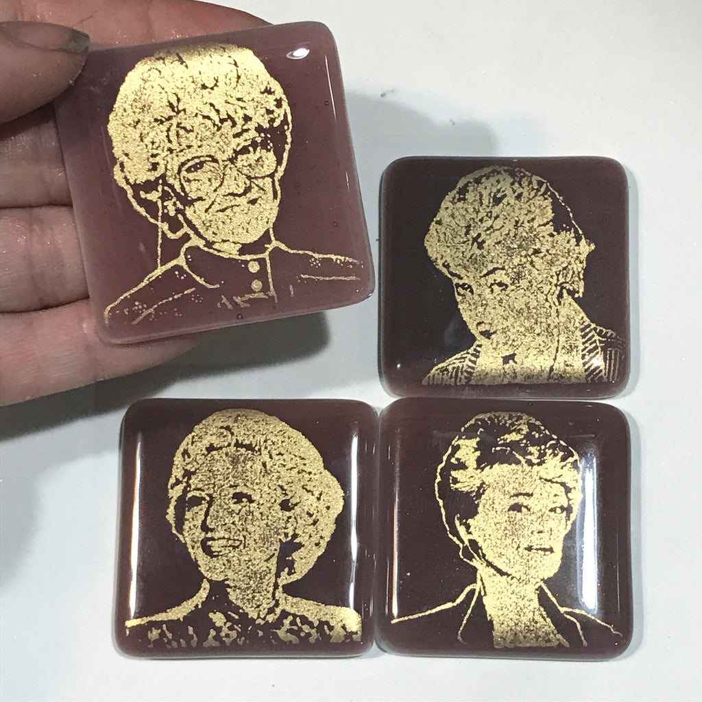 4-pack Golden Girls Actresses Magnet