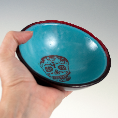 Calavera Small Bowl